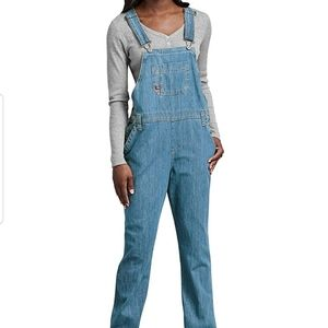 Dickies new without tag Women Denim Bib Overall
